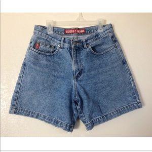Guess high wasted shorts